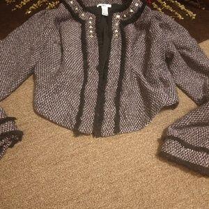 Bar III Tweed Blazer